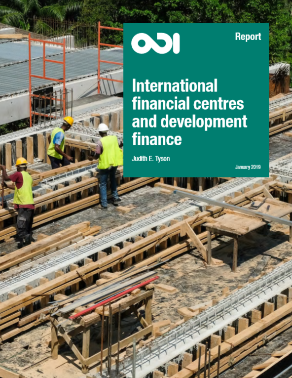 International Finance Centres Mobilize US$1.6 Trillion of Financing to Developing Countries – ODI Paper